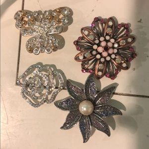 Brooches from Premier Designs